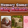Memory Game: Baby Animals