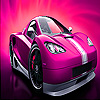 Mini pink car slide puzzle