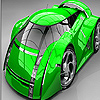 Modern car slide puzzle