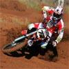 Motocross Bike Number 72