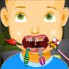 Naughty Baby at Dentist