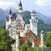 Neuschwanstein Castle Sliding Puzzle