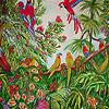 Parrots in the jungle slide puzzle