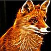 Pensive fox slide puzzle