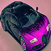 Pink small car slide puzzle
