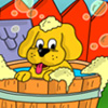 Playful Puppies 2 Coloring Page