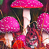 Pretty forest mouses puzzle