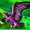 Purple Eagle slide puzzle