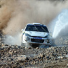 Rally Car On Rocks Jigsaw