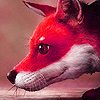 Red fox in the jungle slide puzzle
