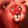 Red giant lion puzzle