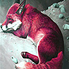 Red  mountain foxes puzzle