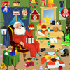 Santa Messy Room