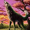 Singing wild wolf slide puzzle