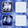 Snowflakes fast image