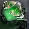 Space concept car puzzle