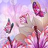 Spring butterflies party hidden numbers