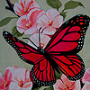 Spring garden butterfly puzzle