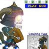 TAOFWA Skeletal Warrior Animation Coloring Game (Chibi Walk)