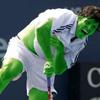Tennis Green Player
