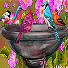 Thirsty birds slide puzzle