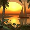 Tropical Landscape Puzzle