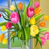 Tulips Vector Sliding