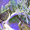 Two partridge in the garden puzzle