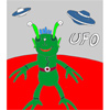 UFO – Martian Coloring