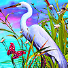 White stork and friends puzzle