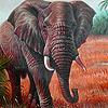 Wild elephants puzzle