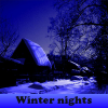 Winter nights. Find objects