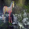 Zebra and alligator slide puzzle