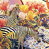 Zebras in the garden puzzle